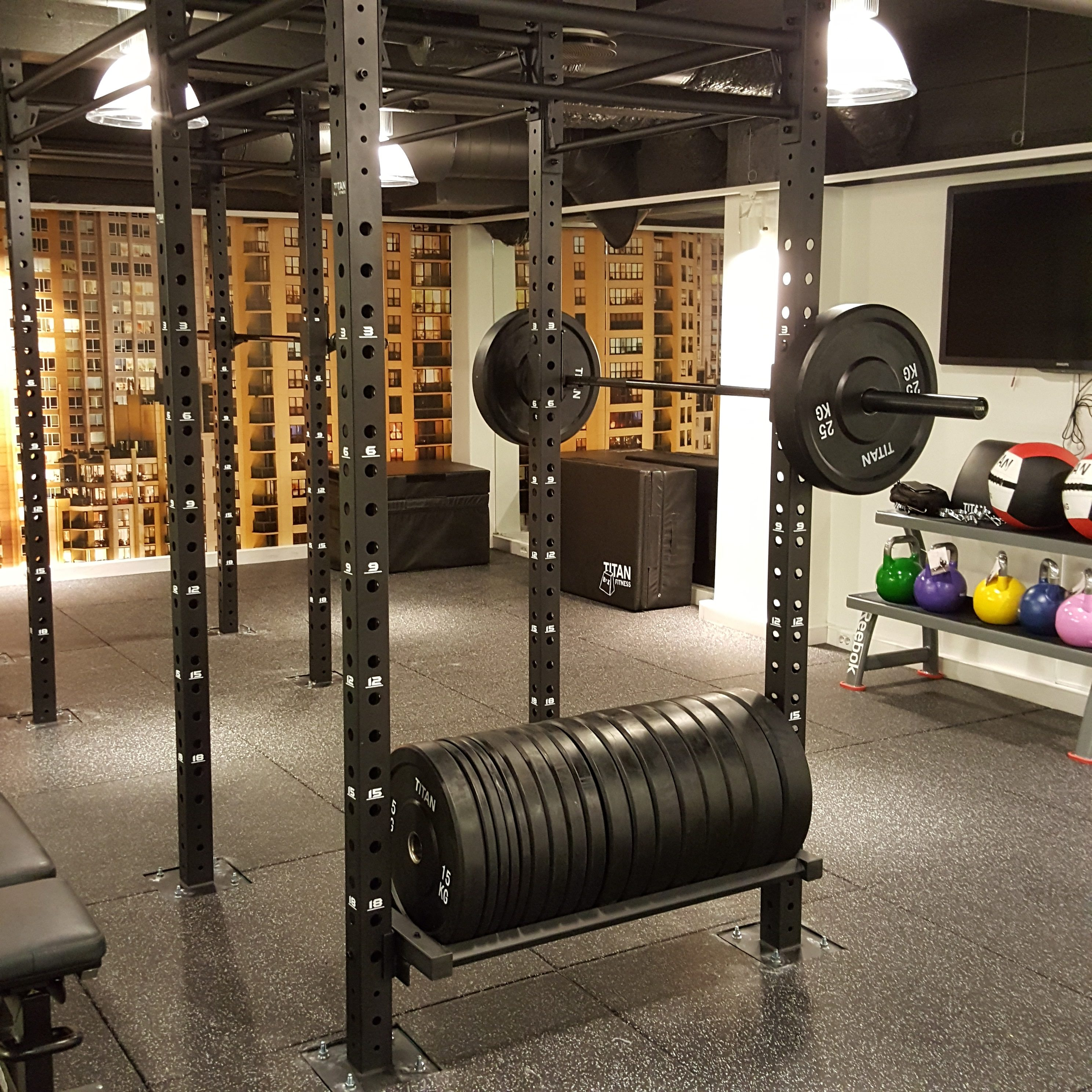 Example from one of fit for business' hotel gym designes