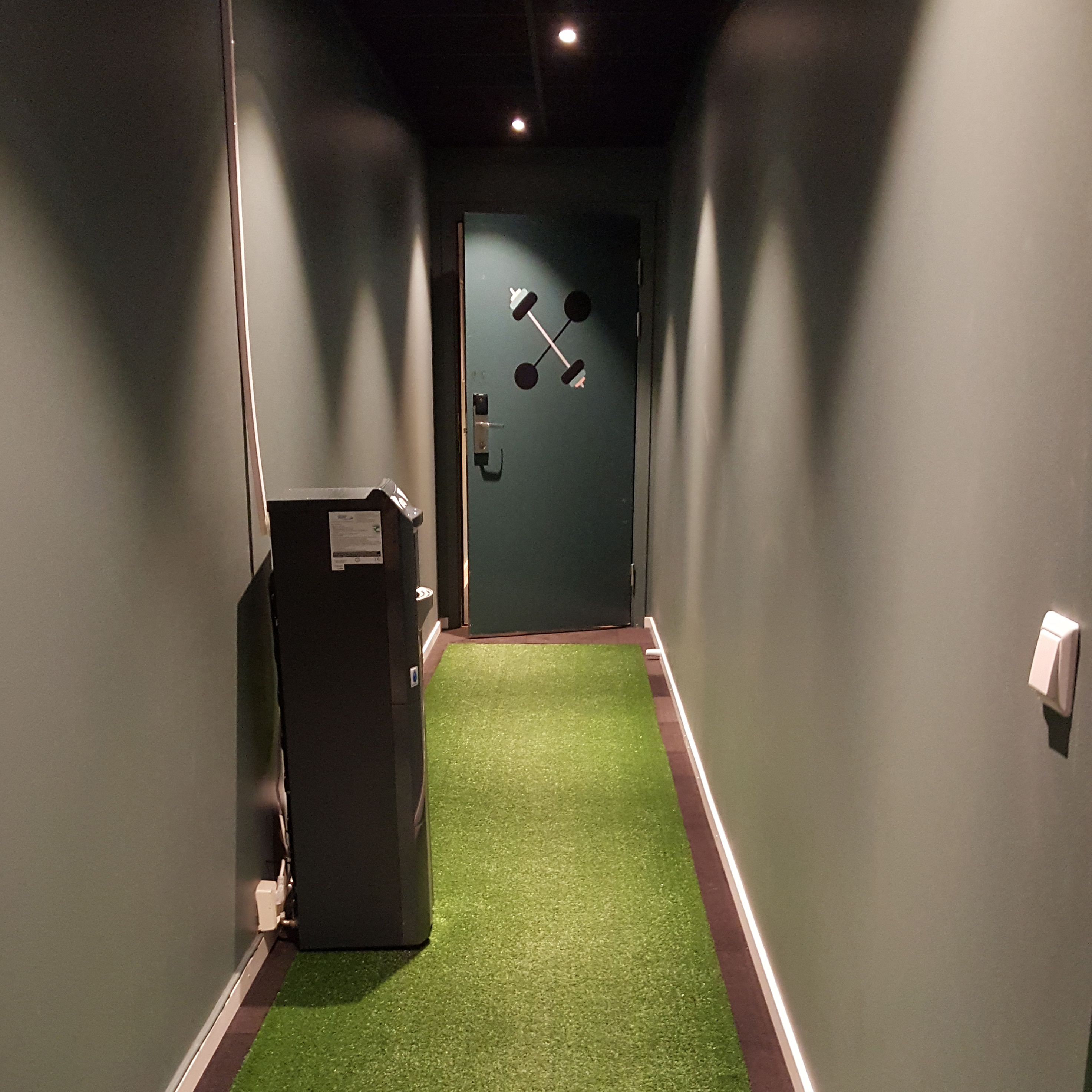 Picture of a hallway