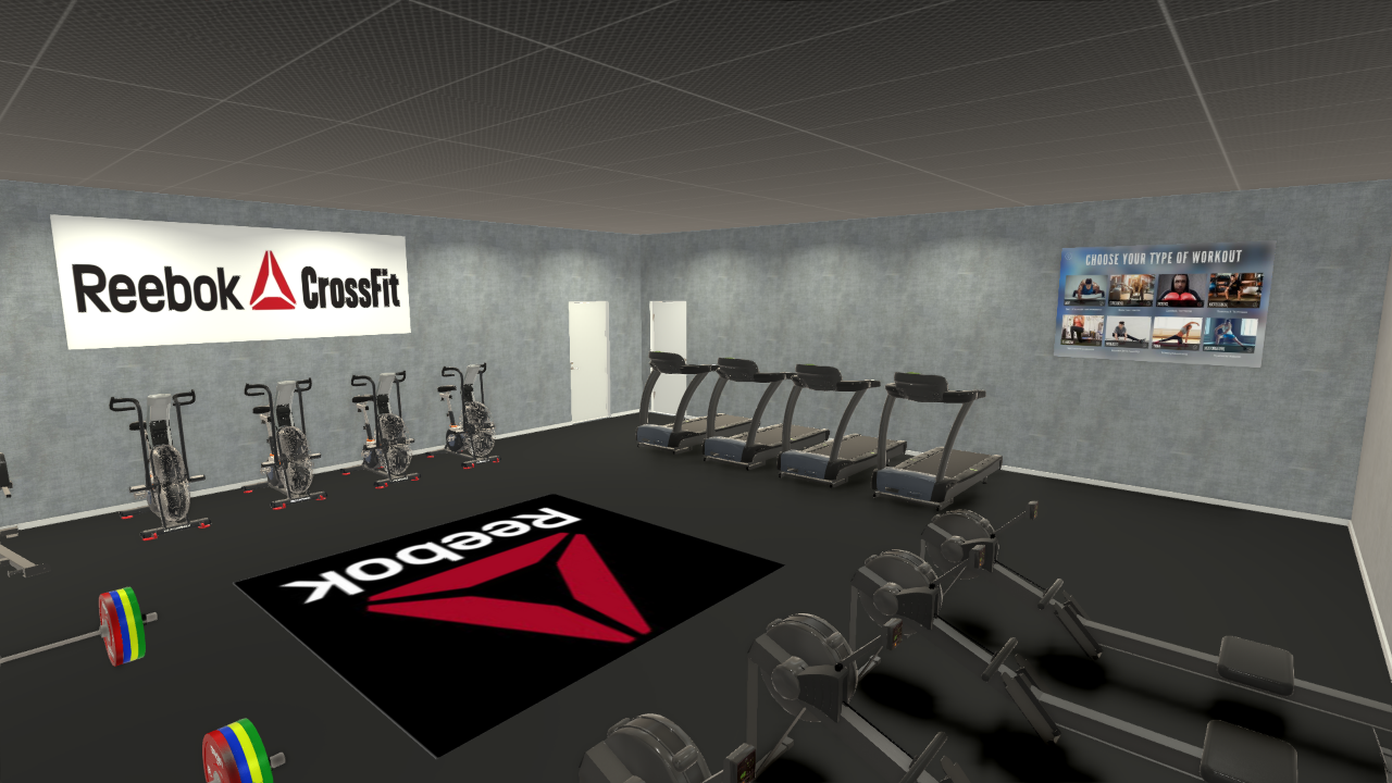 3d rendered gym by Fit For Business